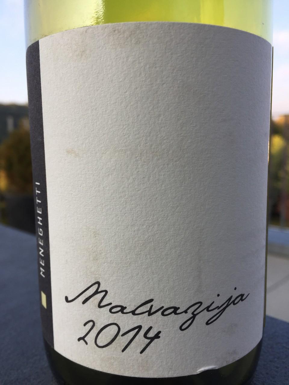 Malvazija, Meneghetti, 2014