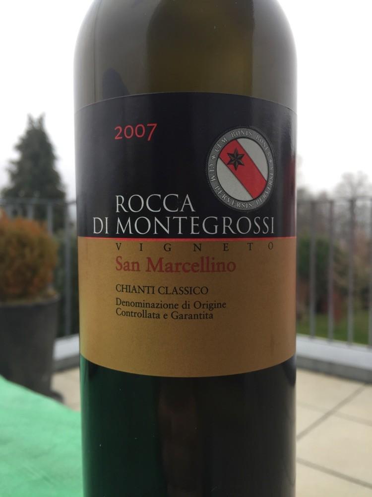 San Marcellino, Rocca di Montegrossi, 2007