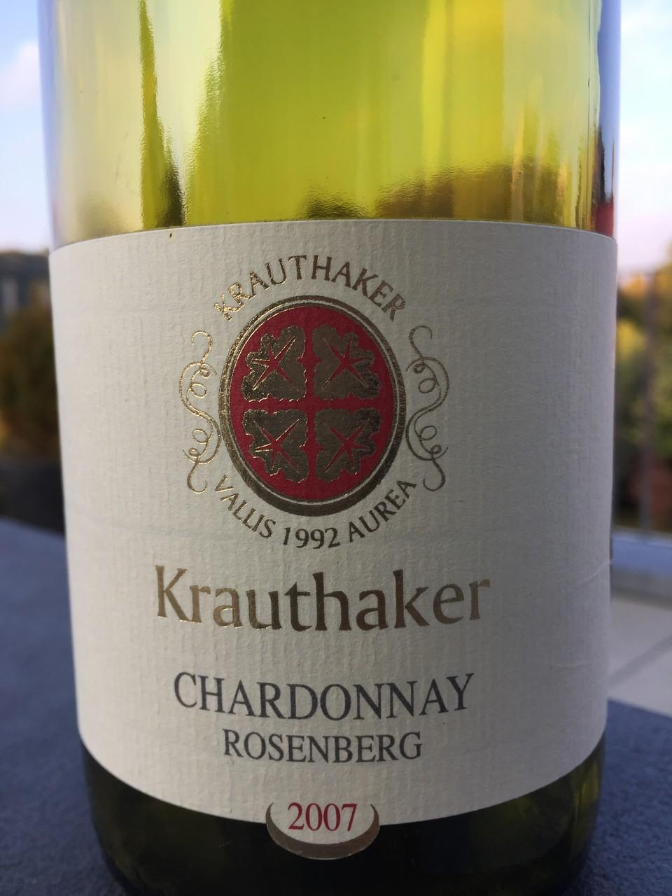 Chardonnay, Krauthaker, 2007