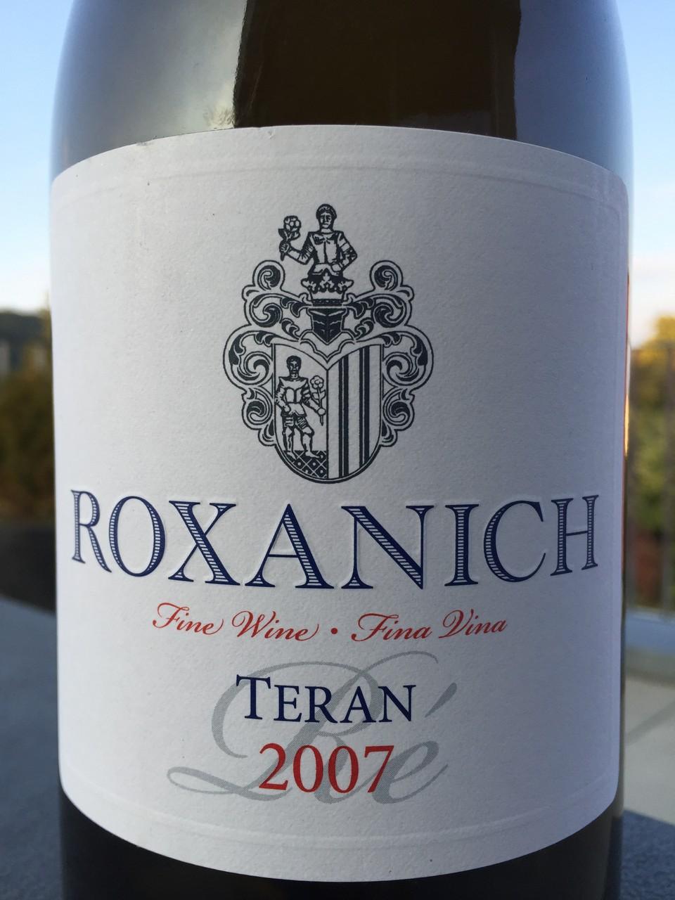 Teran Ré, Roxanich, 2007