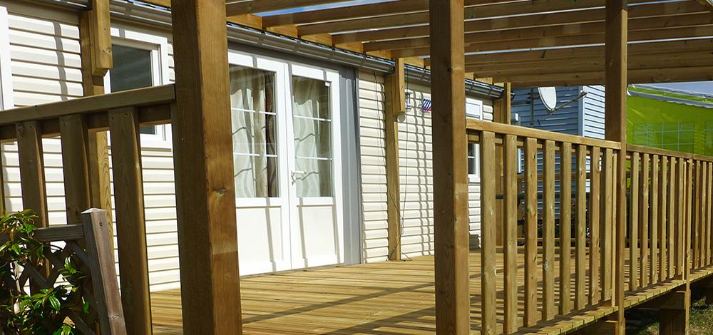 Terrasse bois et pergola ID Plein Air
