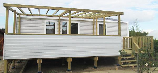Terrasse mobil home ID Plein Air