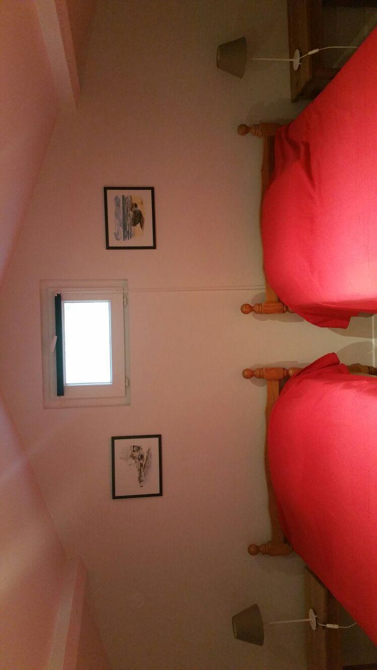 Chambre à l'étage