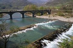 Ponte sul trebbia,Bobbio