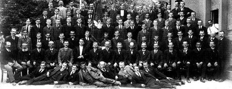 1920: Der Chor des Arbeitergesangvereins Bruderbund 1900