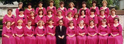 1982: Der Gründungschor der Bruderbund-Frauen