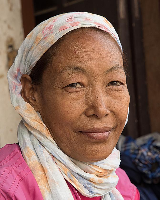 Sherpa Frau, Kathmandu