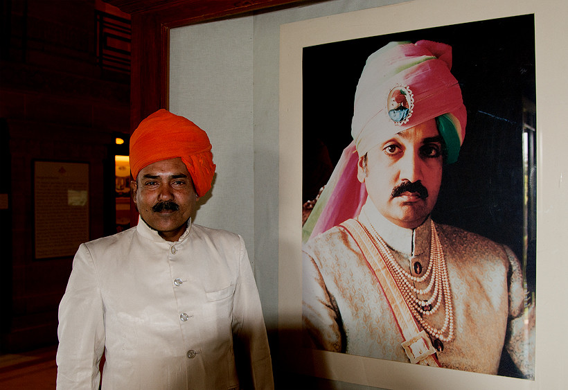 Das Bild des Maharadscha
