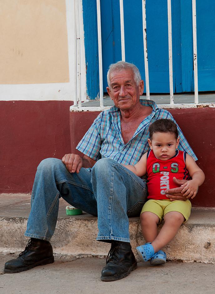 Mein Gastgeber und sein Enkel