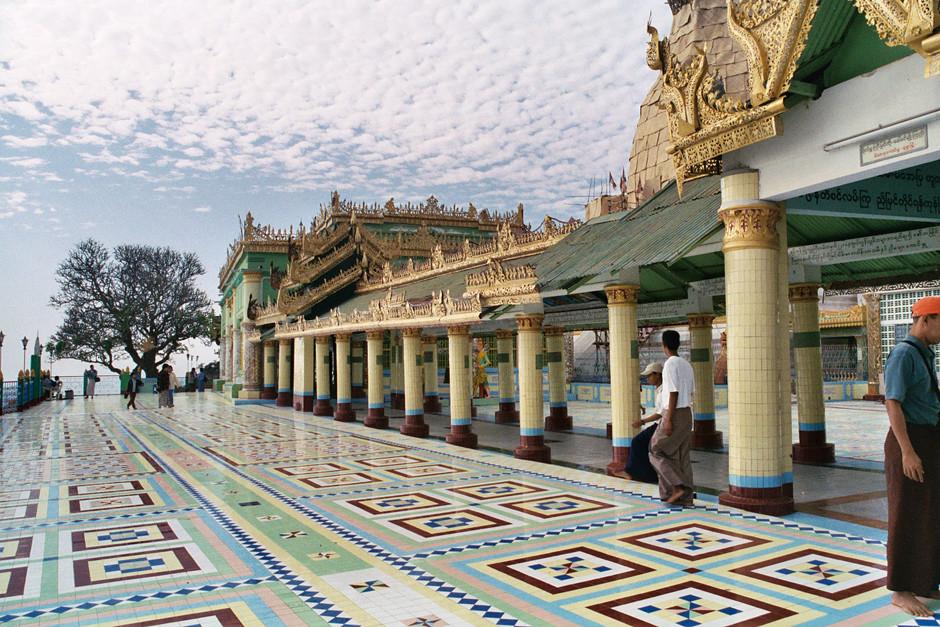 Tempel in Amarapura