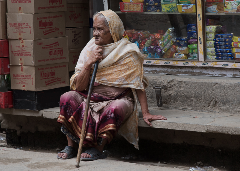 Alte Dame, Kathmandu