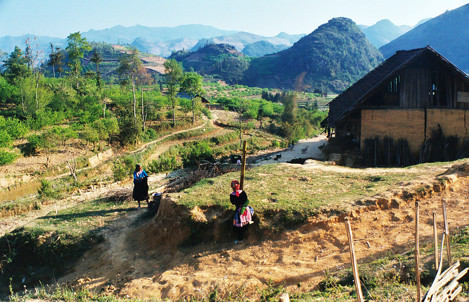 Umgebung von Bac Ha