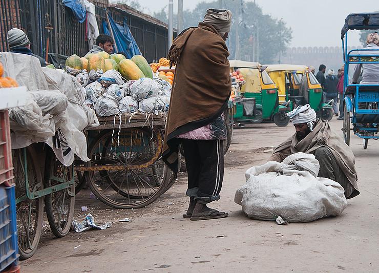 Markt in der Nähe der grossen Moschee