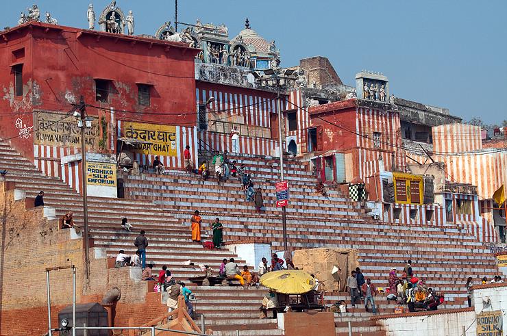 Treppen zum Ganges