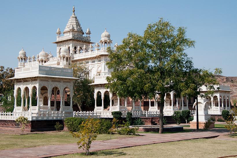 Jaswant Thade  Gedächtnisstätte des Maharaja Jaswant Singh II