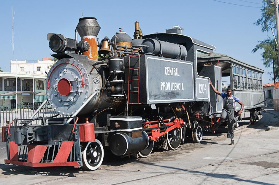 Alte Eisenbahn in Havanna