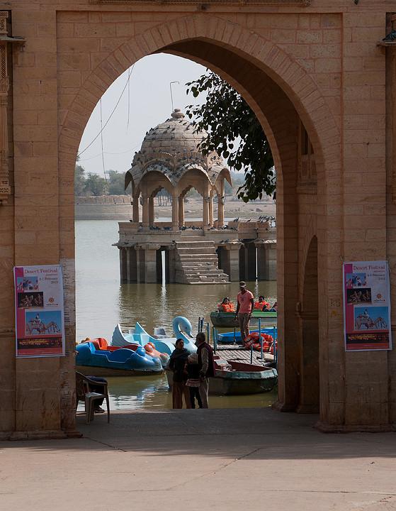 Tor zum See (Gharsi Sagar)