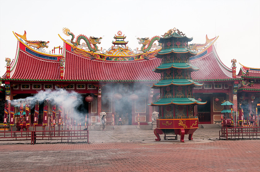 Chinesischen Tempel  Vihara Gunung Timur