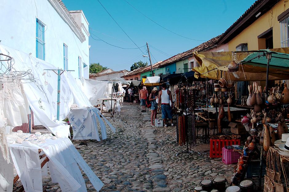 Der Markt in Trinidad