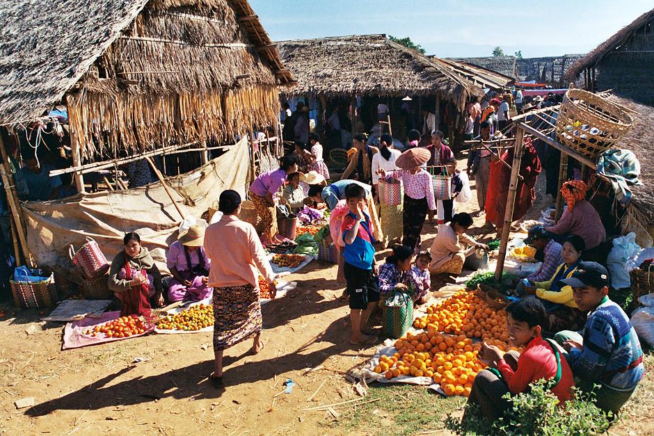 Markt am Inle Lake