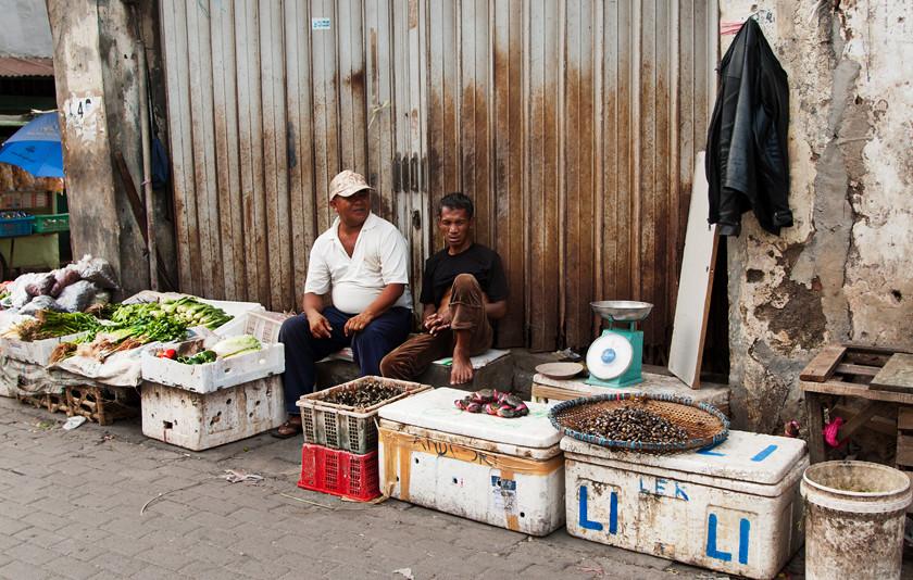 Markt  im Ortsteil Kota