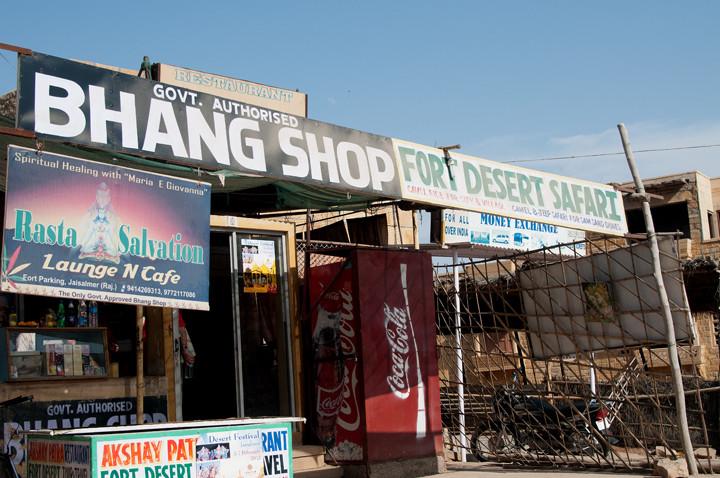 Bhang Shop.