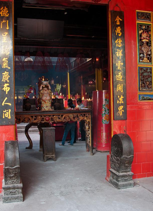 Jin De Yuan Tempel / ältester Tempel in Jakarta