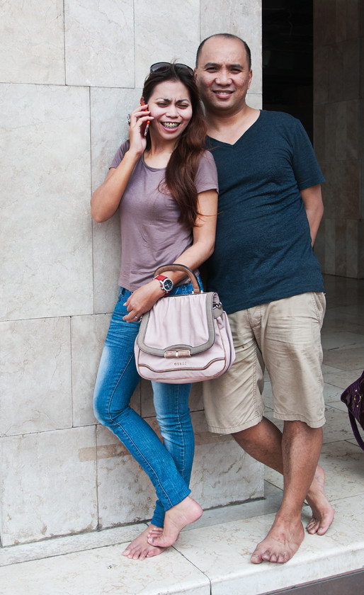 Mein indonesischer Freund und seine Verlobte.