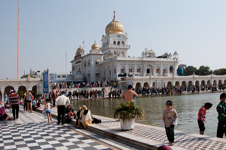 Sikh Tempel Gurdwara Bangla Sahib