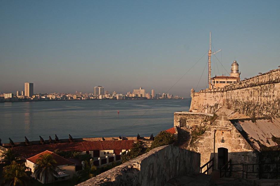 Havannas Hafeneinfahrt