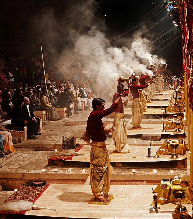 Agni Pooja (Agni Puja) Zeremonie