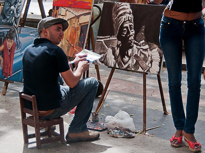 Oh La la sagten auch seine Gemälde :-)