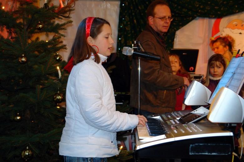 Weihnachtskonzert am Rathaus Großröhrsdorf