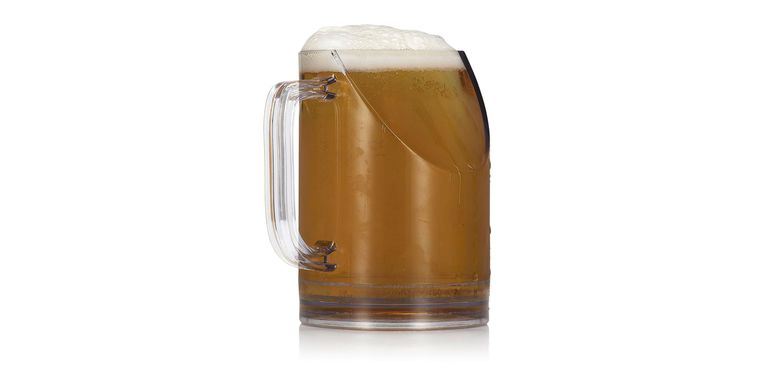 Slanted Beer Mug