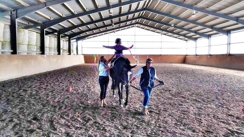 Occupational Therapy with Hippotherapy is highly efficient and lots of fun!