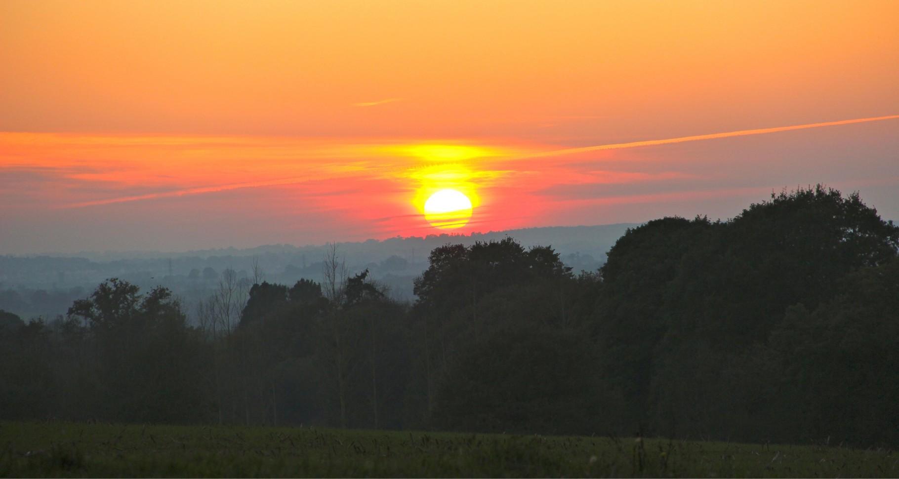 Vallée de la Vilaine - Soleil couchant