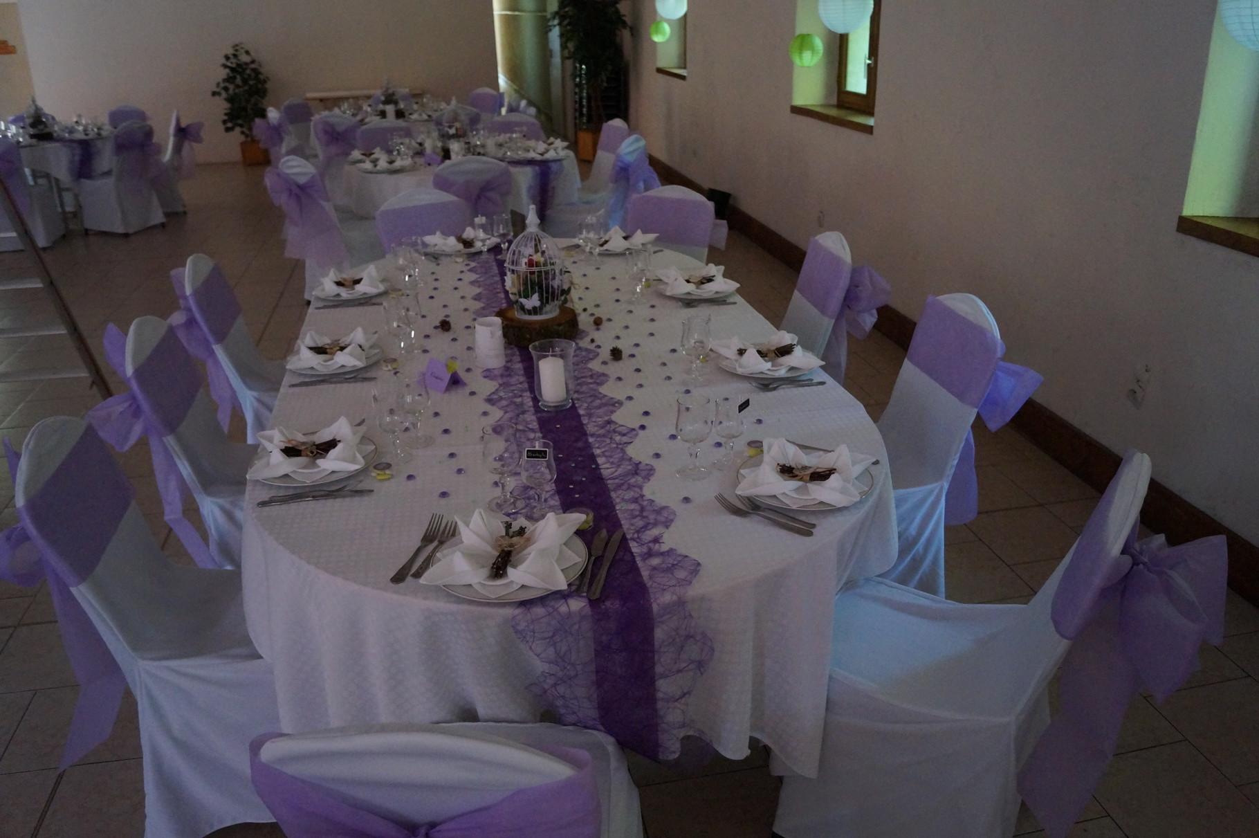 Table ovalisée