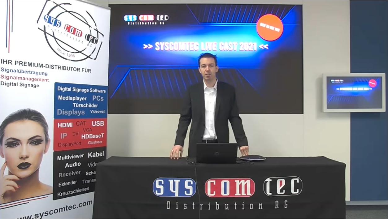SYSCOMTEC LIVE CAST 2021 – ein Erfolg auf ganzer Linie