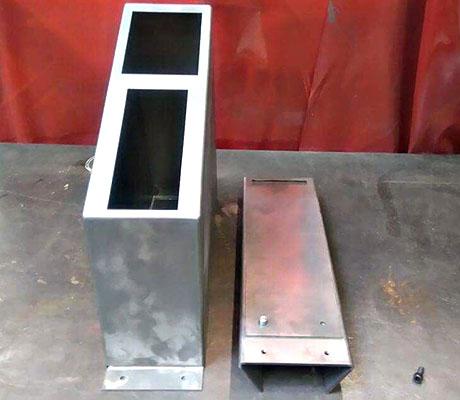 En acier décapé DC01