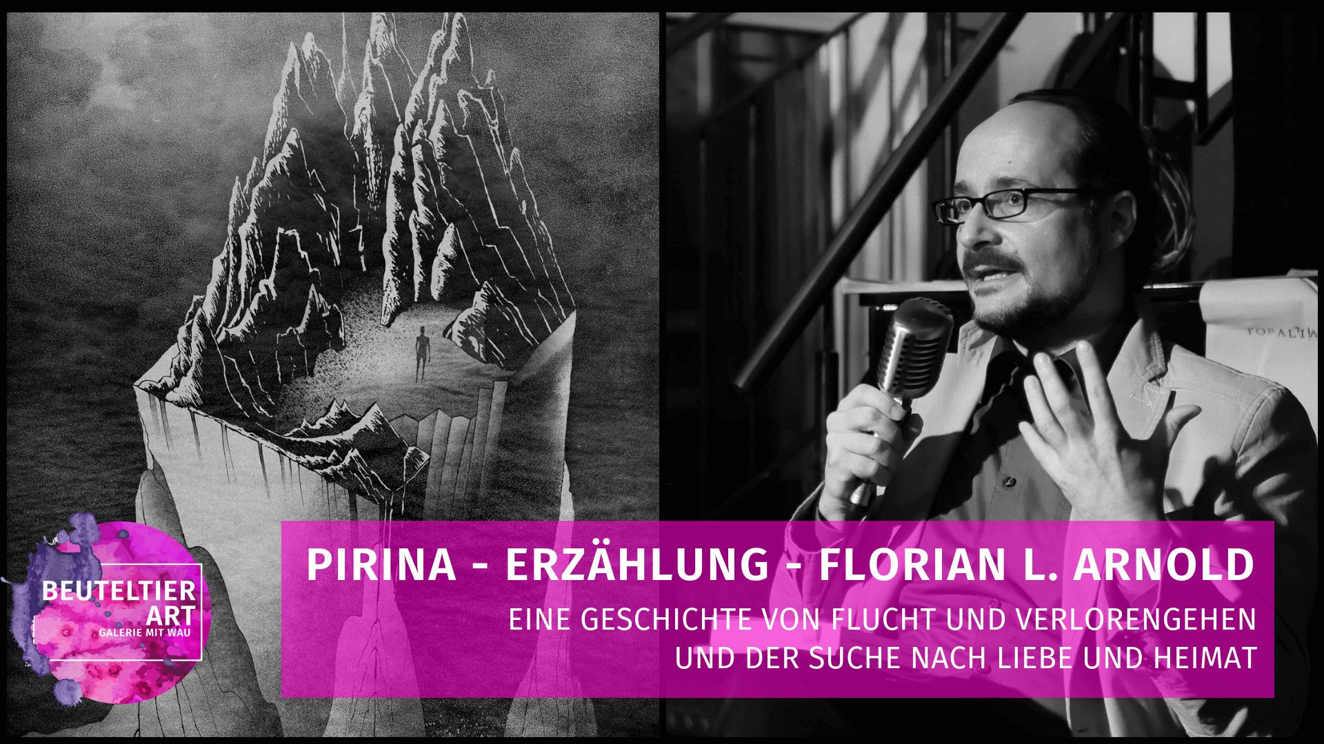 Pirina - Lesung von Autor Florian L. Arnold