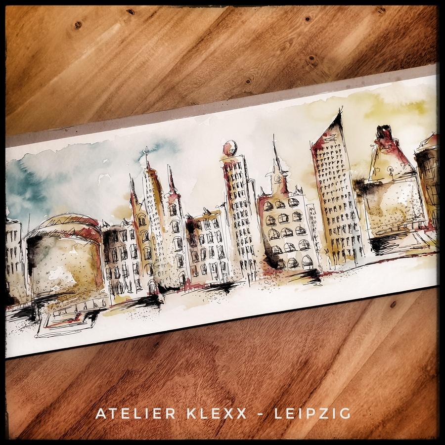 Leipzig - Sketch the city - Kathrin Krüger