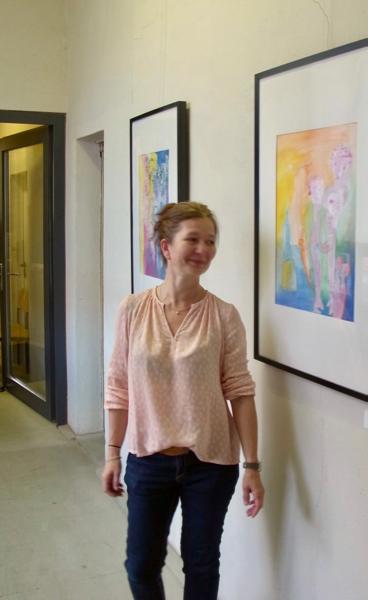 Ausstellung In-Zwischen-Zeit - Simone Scharte