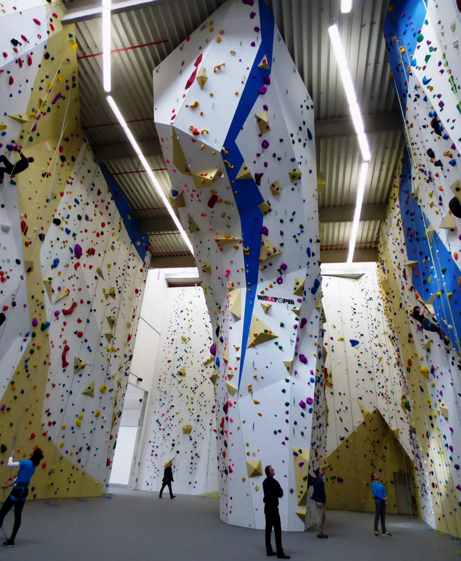 Jugendherberge Lindlar: Kletterhalle