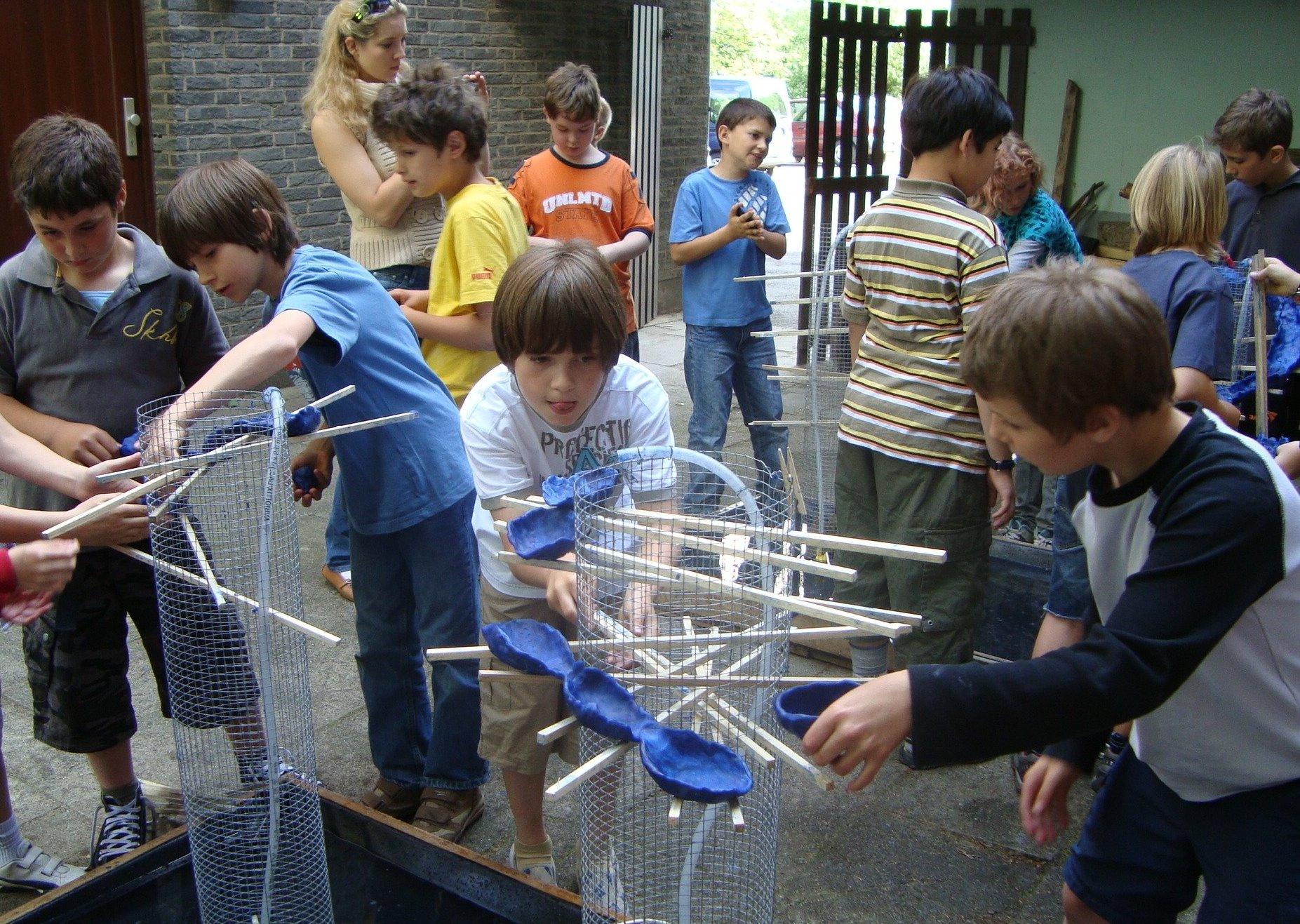 Strömungsbrunnen bauen
