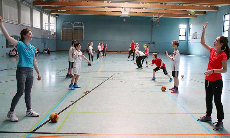 Turnhalle Gymnasium Lindlar
