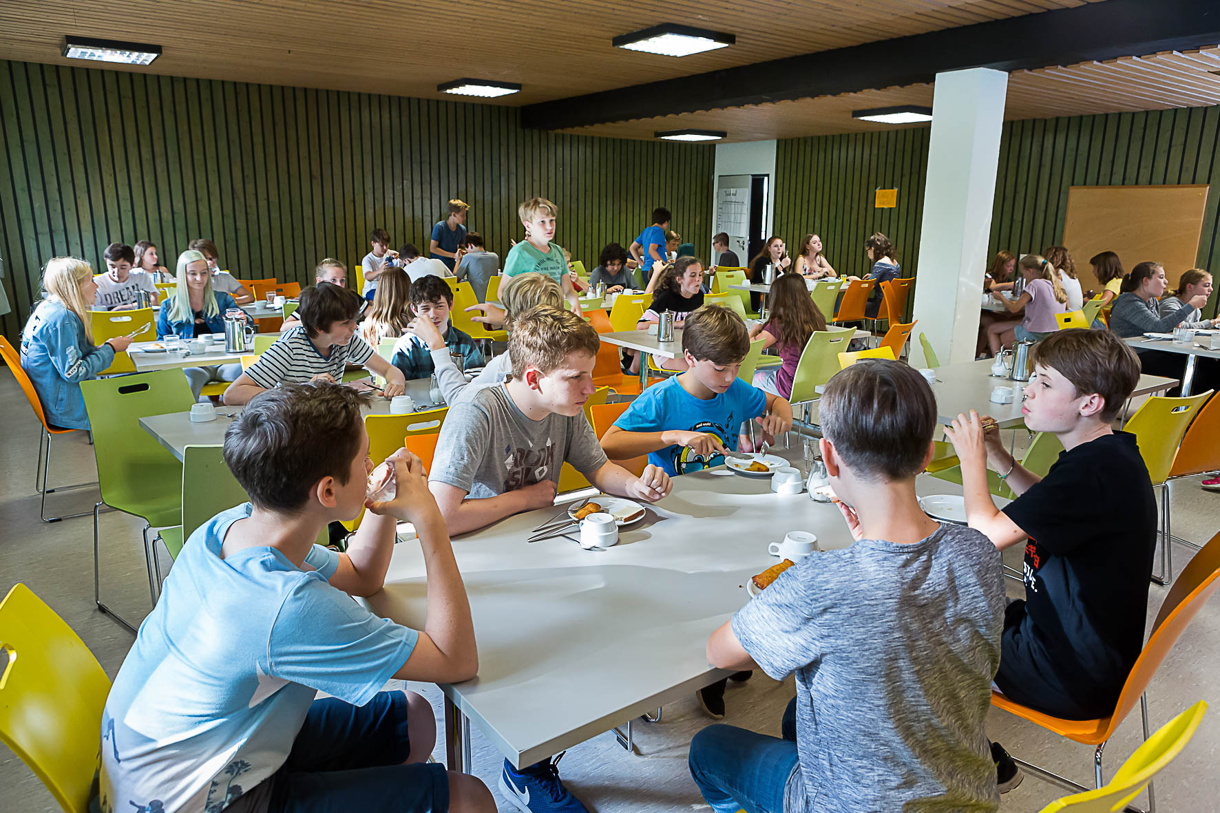 Jugendherberge Lindlar: Aufenthaltsraum