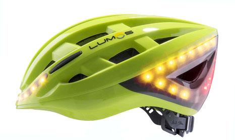 Lumos   -   der erste Velohelm mit Blinker und Bremslicht