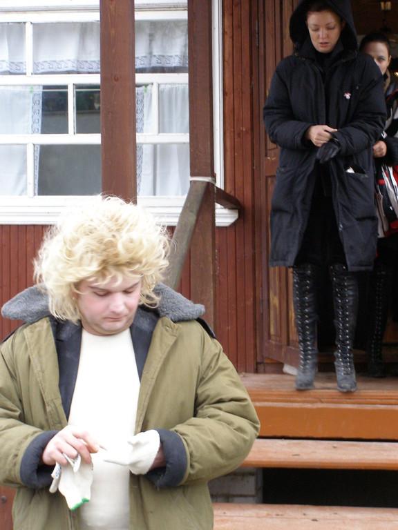 Олег Герасимов (в костюме Обожриса).