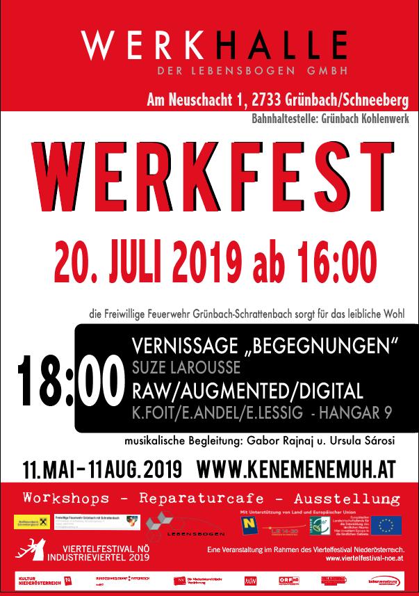Plakat WERKFEST