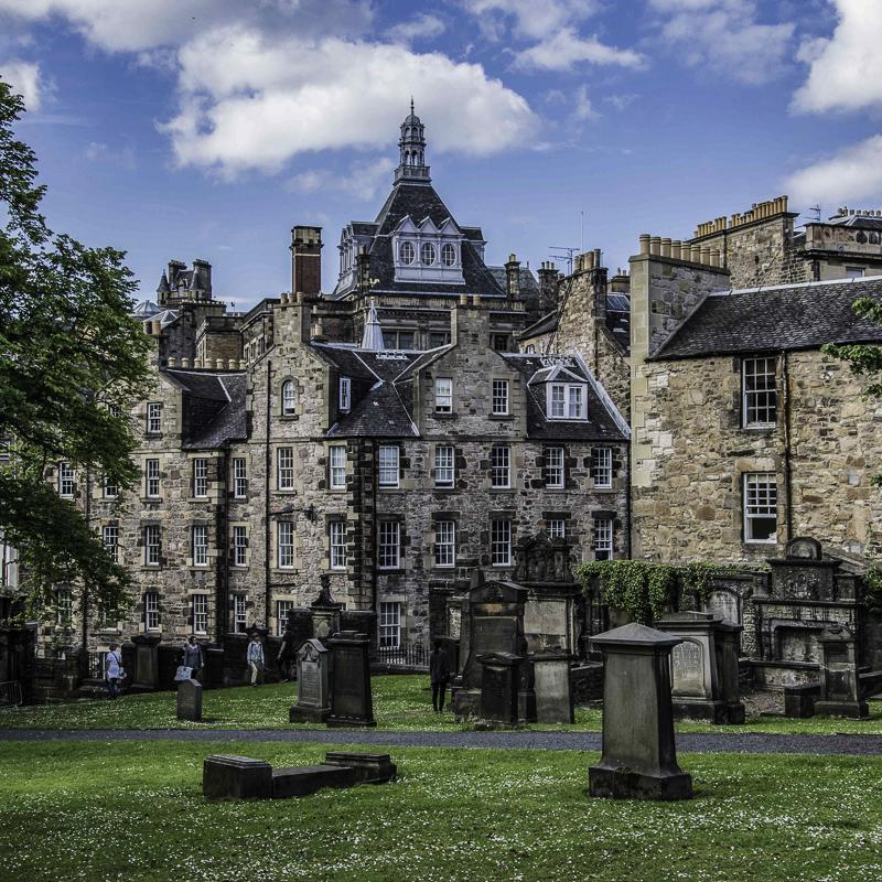 Scozia - Greyfriars Kirkyard a Edimburgo